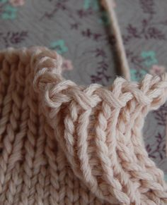 Whit's Knits: A Better Bind Off Tutorial - Knitting Crochet Sewing Crafts Patterns and Ideas! - the purl bee