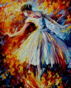 A dancer! ~Leonid Afremov