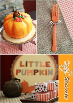 Cute ideas for fall baby shower