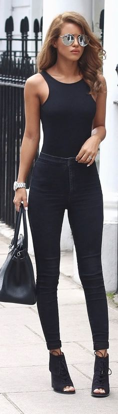 Fall street fashion / karen cox. Black Daze / Fashion By Nada Adelle