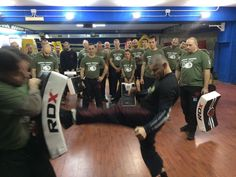#IsraelCohen in action during first Rank Camp in Italy! #IKMF #KravMaga #Combat #Fighting #Training