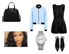 """""""outfit #161"""" by anaguilhermep98 on Polyvore featuring Balenciaga, Valentino, Furla, Calvin Klein, women's clothing, women, female, woman, misses and juniors"""
