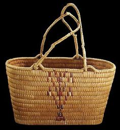 Old-Antique-Indian-Thompson-River-SALISH-Native-American-Northwest-Coast-Basket