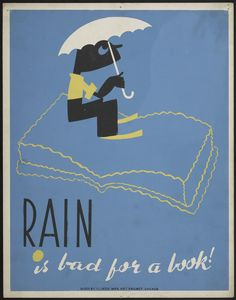 WPA Posters That Taught 1930s Kids How to Take Good Care of Books