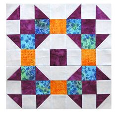 Quilt In A Day Monthly Block on Facebook:  http://www.quiltinaday.com/imgs/facebook/april/GreekCross.pdf