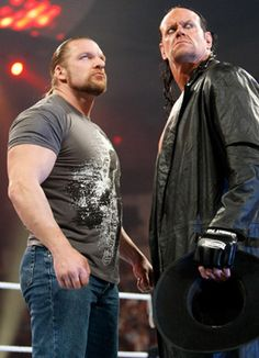 The Undertaker and Triple H Raw 2/21/11