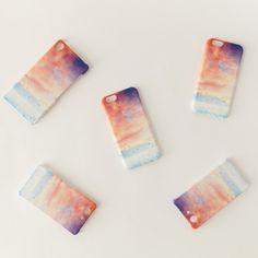 iPhone/Galaxy/Xperia Case「赤い、空」