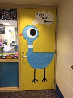 Mo Willems door decoration I created for Literacy Night.