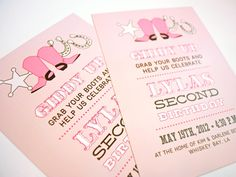 A Pinch of Lovely: Invitations