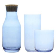 Centroen by Absolument #homedecor #decoration #home #glassware #tableware #blue #pastel
