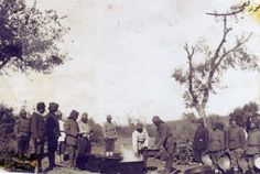 GBP - Ottoman Turkish Army Soldiers Cooking World War Inch Reprint Photo 1 Turkish Army, Army Soldier, Historical Pictures, Wwi, World War, Martini, History, Painting, Soldiers