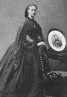 "Alexandra ""Sanny"" (Alexandra Iosifovna) (8 Jul 1830-6 Jul 1911) Saxe-Altenburg, Germany. Wife of Grand Duke Konstantin ""Kosti"" Nikolaevich Romanov (21 Sep 1827-25 Jan 1892) Russia.- FRxclaudia 28Mar08 3"