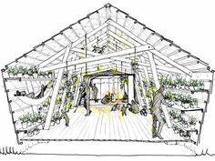 « L'Oasis », de l'association AKPÉ, avec une semencerie et un espace de repos.DR