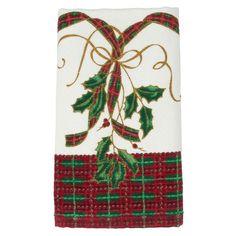 Lenox Holiday Nouveau Ribbon Hand Towel, Multicolor