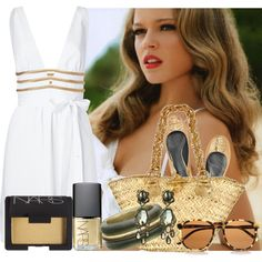 """Kissed With Gold"" by jacque-reid on Polyvore"