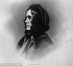 Jane Pierce: Wife of Franklin Pierce and the daughter of a reverend, the First Lady was remembered as a petite, frail and melancholy figure