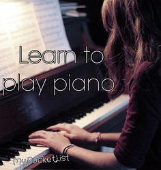 Lo tengo que aprender antes de morir