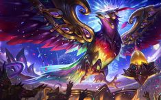 Download imagens Anivia, 4k, MOBA, arte, League of Legends