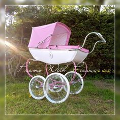 Pram Stroller, Baby Strollers, Dolls Prams, Baby Prams, Cute Crafts, Bobs, Little Ones, Walking, Children