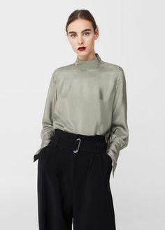 25 meilleures images du tableau Whishlist   Zara women, Blouse et ... 6bbccaeb0b02