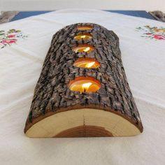 10 grandiosas manualidades con troncos para el hogar - Las Manualidades