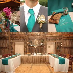 Teal is still a strong choice for couples planning their wedding colors in 2015. Teal can be boldly mixed with other popular colors for a strong and bright color palette. Think teal paired with hot pink, teal accented with shades of yellow, or teal contrasted with coral for a beach themed look. Teal and copper is also a fresh and distinctive choice in 2015 that will add a flair of glamour to any event.