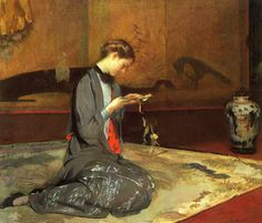 Cutting Origami - Girl Cutting Patterns by Tarbell.