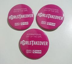 International Day of the Girl hashtag badges International Day, Promote Your Business, Girl Day, Badges, Ireland, How To Plan, Printed, Blog, Badge