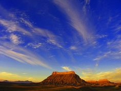 Factory Butte in Utah - Court Says BLM Must Survey Utah's Red Rock Country for Cultural Artifacts