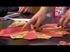 Bloco de Patchwork: Dresden Plate - Costura com Riera Alta - YouTube