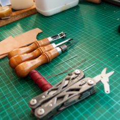 Hand-Sew Two Pieces of Thick Leather | Guidecentral