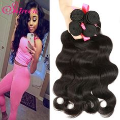 Find More Human Hair Extensions Information about Malaysian Virgin Hair Body…