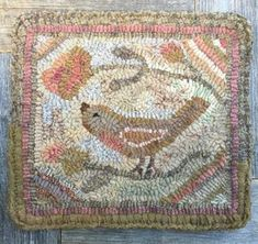 Making a small hooked mat is a perfect way to experiment with color. Maybe you are in-between projects yet feel the need to have wool and h...