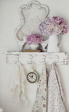 Shabby Chic Decorating Ideas - KOKOSHKA.PL: Inspiracje: shabby chic
