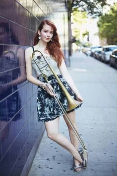 Jazz music, lyrics, and videos from New York, NY on ReverbNation Band Senior Pictures, Photography Senior Pictures, Band Pictures, Senior Photos, Girl Pictures, Girl Photos, Partituras Trombone, Senior Portraits Girl, Trumpet Players