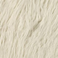 Faux Fur Curly Mongolian White from @fabricdotcom  Spoil yourself with this exquisite long hair faux fabric.  Fur has a 2'' pile,  a luxurious hand and a soft subtle sheen just like the real thing!  Make gorgeous jackets, coats, wraps, fashion accessories, pillows, throws and more!