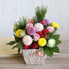 迎春アレンジ*七宝(L) | 花・花束の通販|青山フラワーマーケット