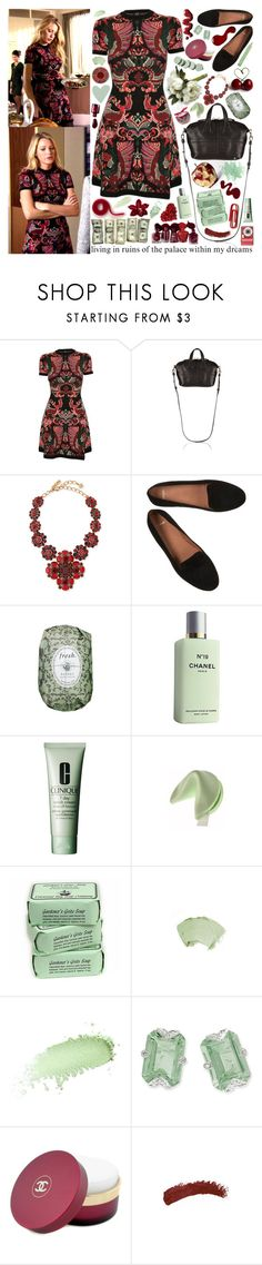 """""""ℓiving in ruins;"""" by jennn ❤ liked on Polyvore featuring McQ by Alexander McQueen, Metropolis, Givenchy, Oscar de la Renta, Samsung, Fresh, Chanel, Clinique, Benefit and Too Faced Cosmetics"""