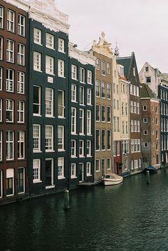   ♕   Amsterdam   by zaliazolyte   via greyocean   awelltraveledwoman