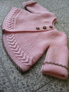 This Pin was discovered by PatFree Knitting Pattern Baby Cardigan with CablesFree baby knitting pattern set including a lace cardigan and booties.Knitting Pattern for Garter Stpooh piglet and eyore Baby Knitting Patterns, Knitting For Kids, Crochet For Kids, Baby Patterns, Free Knitting, Crochet Baby, Knit Crochet, Knitting Needles, Crochet Patterns
