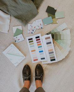 El cuarto verde estrena verdes: color y textiles / Vero Palazzo - Home Deco Textiles, Palazzo, Home Deco, Shades Of Green, Colors, Quartos, Home_decor, Fabrics, Palace