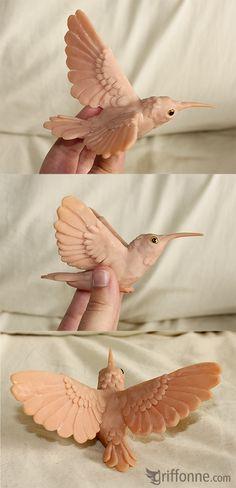 So I made a hummingbird by joanniegoulet.deviantart.com on @deviantART