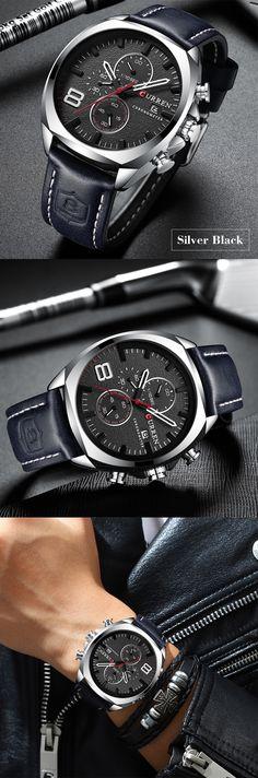 097c150dfb43 RELOJ CURREN marca superior para hombres al mejor precio.  relojhombre   modahombre  acesoriosparahombres