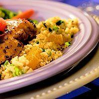 Couscous with orange recipe, delish!