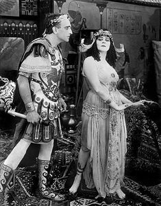 Theda Bara and Fritz Leiber in the lost film Cleopatra