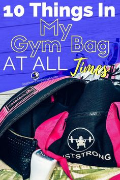 Gym Bag Necessities- Gym Bag Necessities Looking for the perfect gym back essentials? Here is whats in my gym bag to keep you always prepared for even the most inconvenient of situations. Plus, it& got pink straps! Running For Beginners, How To Start Running, Fitness Goals For Women, Lose Weight Running, Fitness Diary, Post Workout Protein, Gym Bag Essentials, Running On Treadmill, Gym Routine