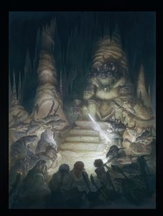 The Hobbit - The Goblin King (by Justin Gerard)