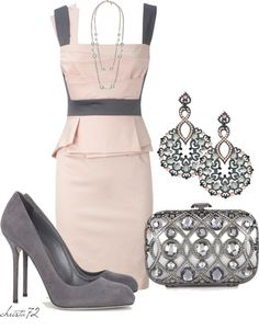 """Pretty Pink 4"" by christa72 on Polyvore"