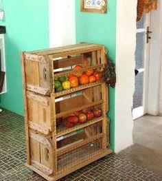 cajones de madera...para las verduras