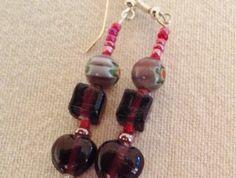 Earrings - Mulberry jam - Item #231571